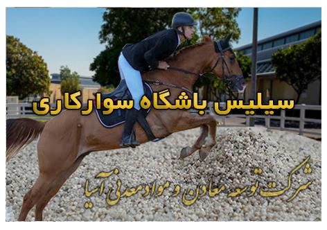 سیلیس باشگاه سوارکاری سیلیس کروی ماسه اسب سواری