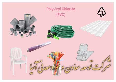 pvc پی وی سی پلی وینیل کلراید تولید پلاستیک رنگ پیگمنت پرکننده باریت کربنات کلسیم تقویت کننده افزودنی